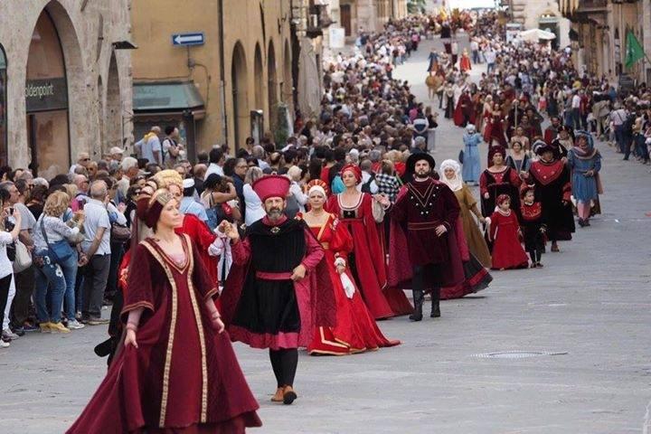 Perugia 1416, Bandi di sfida